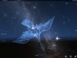 La constellation du Cygne