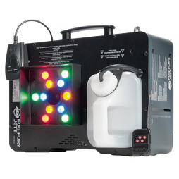 beleuchtete Nebelmaschine