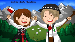 """piosenka """"Jesteśmy Polką i Polakiem"""""""