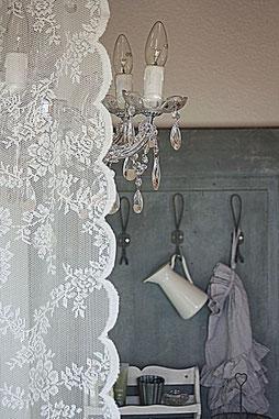 Ikea vitrage-gordijnen & Chalk Paint™ - Auberge des Reves
