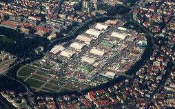 Luftaufnahme der Theresienwiese (Oktoberfest 2006, wikipedia, Stefan Weigel CC-BY-SA 2.5)