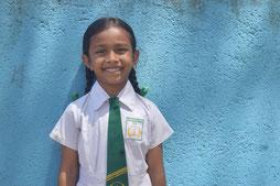 サユミさん(6歳)  ボゴダギ小学校