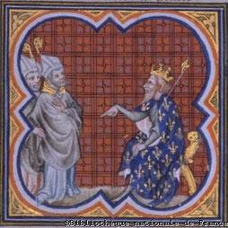 Chilpéric face à Grégoire de Tours