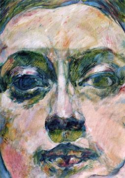 Jean-François Comte vit et travaille dans son atelier-galerie, aux Chambres de l'Abbaye, proche de Paris, dans l'Oise