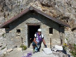 Didier Nicard - Guide de haute montagne - Escalade haute montagne - Tête de MoÏse - Via ferrata - Bivouac 2870m.