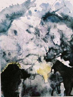 イリス2Iris(Watercolor painting)