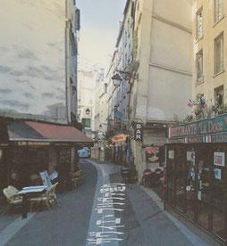 ザヴィエ・プリヴァ通り      Photo by Google Maps