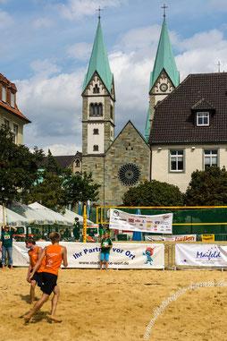 Beachvolleyball, Werl, Bild, Foto, Meisterschaft, 2014