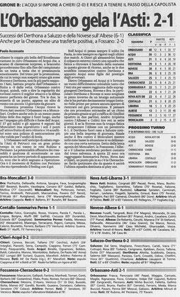 2003 DERTHONA-SALUZZO 2-