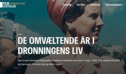 """Screenshot der Startseite von """"Danmark paa Film"""". Foto: C. Schumann, 2020"""