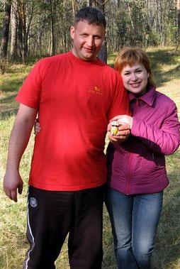 Андрей Корзин и Эсфирь (моя сестра)