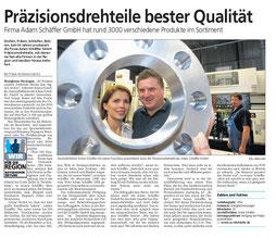 Artikel aus der Bietigheimer Zeitung, 22.09.2014