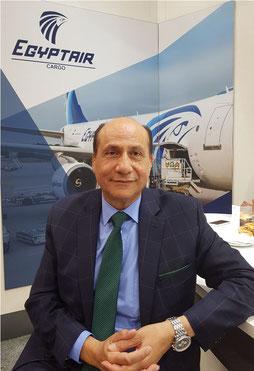 Captain Basem M. Fouad Gohar is Egyptair Cargo's Chairman and CEO - photo: hs