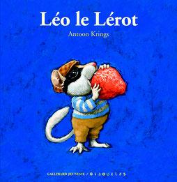 Jolie couverture de Léo le lérot