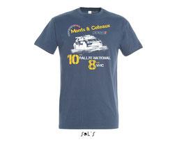 t-shirt de la boutique du rallye monts et coteaux
