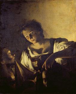 Carlo Saraceni Giuditta con la testa di Oloferne 1618 circa Olio su tela Fondazione di Studi di Storia dell'Arte Roberto Longhi, Firenze