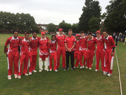 Swiss U19s at Reigate Priory 2016