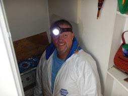 Toujours à la fût, votre inspecteur en bâtiment chez INSPECTDETECT INC. Daniel Gaudreau membre de l'AIBQ spécialisé en inspection  préventive.