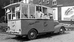 Camion de frites des années 50