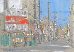 浅井元義 オイルパステル画展 2018