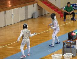 第57回東北高等学校フェンシング選手権大会 エペ優勝 坪颯馬