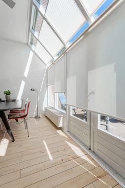 raamdecoratie, binnenzonwering, plissé, plisségordijn, raambekleding, solis zonwering, verano