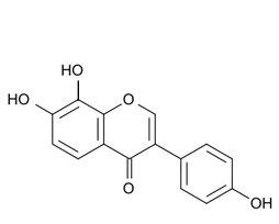 8-ヒドロキシダイゼインの構造式