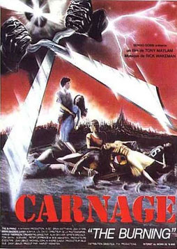 Carnage - The Burning de Tony Maylam - 1981 / Slasher - Horreur