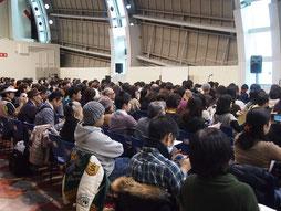 WEGO京セラドーム 定員1000名2013/3/8