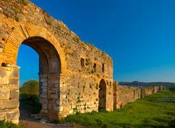 Wall of ancient Nocopolis