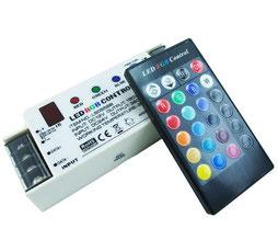Контроллер однозональный с пультом RGB-LS-0958