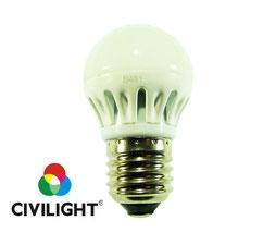 Светодиодная лампа G45 K2F40Т6 metal