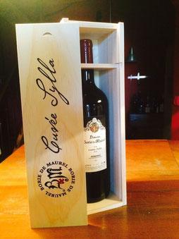 magnum cuvée sylla borie de maurel vin minervois