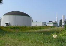 Biomasseanlage Beispielfoto
