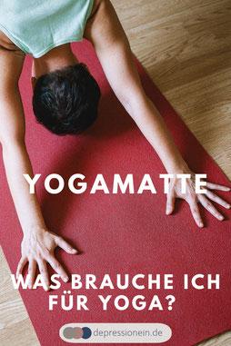 Was brauche ich für Yoga? Um Yoga praktizieren zu können benötigt man grundsätzlich nur eine Yogamatte.