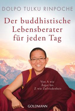Der buddhistische Lebensberater für jeden Tag: Von A wie Ärger bis Z wie Zufriedenheit von Dolpo Tulku Rinpoche