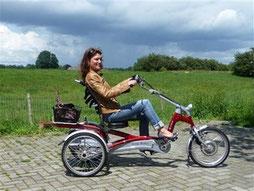Dreirad kaufen beim Experten im Dreirad-Zentrum