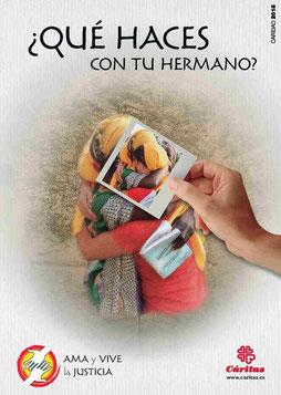 Cartel Campaña de Cáritas