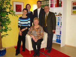 Das Team 2003: v.l. Silvia Geyer, Karin Pichlmayer, Elfriede Mayer, Andreas Geyer & Josef Mayer