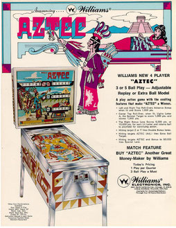 """Aztec"" von Williams"