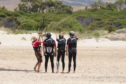 WaveBandits Gruppen Kurs Kitesurfen
