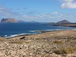 Die Nordseite der Isla Graciosa