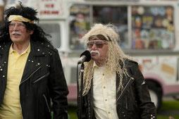 Nichts sagt Hard-Rock mehr als alte Männer mit Perücken