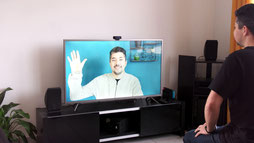 Appels vidéos sur sa TV ou box TV