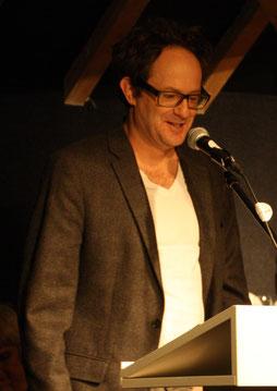 Dieter Brandl beim Vortrag