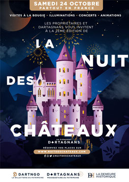 The Night of the Chateaus - Chateau Saveilles - Saveille - Group castle visit - Family castle visit