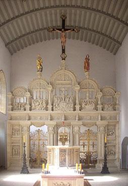 Der Lettner heute in der Antoniuskapelle