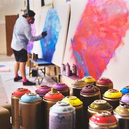 Graffiti Workshop als Jugendweihegeschenk oder für die Konfirmation und Firmung