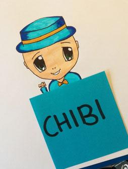 Chibi Charakter manga style event geschenke jugendliche kindergeburtstag im wald ausflug