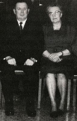 August Kühler und Helene Achtzehn. (Bildnachweis: Stadtarchiv Bergkamen)